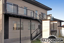 Balcons en aluminium par Patio Design inc.