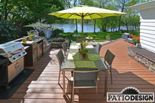 Terrasse en Trex par Patio Design inc.
