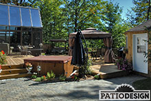 Patio en bois par Patio Design inc.