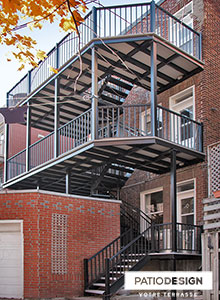 Aluminum Balconies by Patio Design inc.