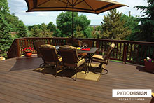 Fiberon Terrace by Patio Design inc.