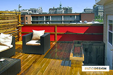 Roof Terrace by Patio Design inc.