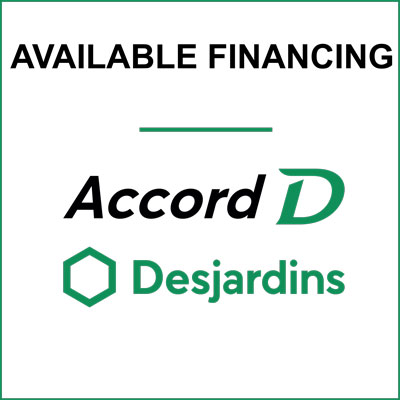 Financing by Desjardins