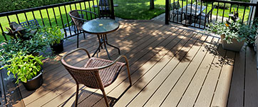 Patio Timbertech par Patio Design inc.