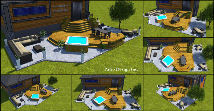Plans 3D par Patio Design inc.
